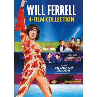 *InstaWatch* Will Ferrell Collection 4-Film Collection - Read Please