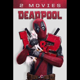 *InstaWatch* Deadpool 2-Movie Collection (VUDU HDX) - READ DESCRIPTION!