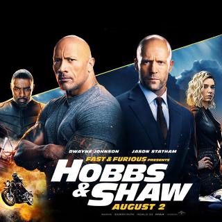 *InstaWatch* Fast & Furious: Hobbs & Shaw (2019) (VUDU HDX) - READ DESCRIPTION!