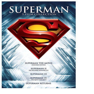 *InstaWatch* Superman 5 Film Collection (VUDU SD) - READ DESCRIPTION!