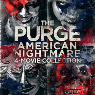 *InstaWatch* The Purge 1-4 Collection (VUDU HDX) - READ DESCRIPTION!