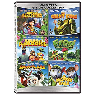 *InstaWatch* (VUDU SD) Family Animated 6-Film Collection