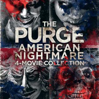 *InstaWatch* The Purge 1-4 Collection (VUDU HDX) - READ DESCRIPTION!
