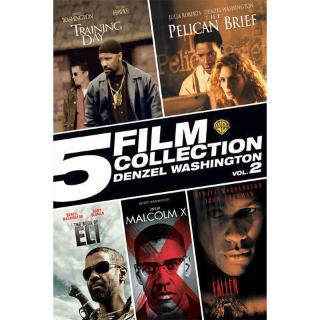 *InstaWatch* 5 Film Collection: Denzel Washington Vol 2 (VUDU SD) - READ DESCRIPTION!