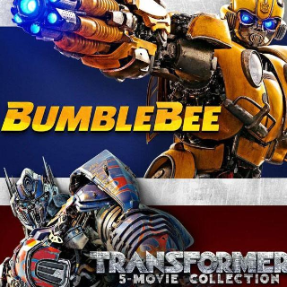 *InstaWatch* Bumblebee + Transformers 6-Movie Collection (VUDU HDX) - READ DESCRIPTION!
