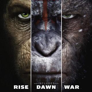 *InstaWatch* Planet of the Apes Trilogy (VUDU HDX) - READ DESCRIPTION!
