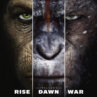 *InstaWatch* Planet of the Apes Trilogy (VUDU HDX)
