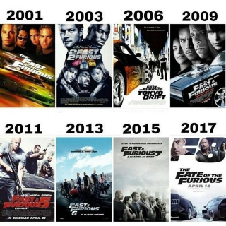 *InstaWatch* (VUDU HDX) Fast and the Furious 8 Movies Collection