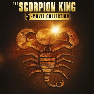 *InstaWatch* Scorpion King: 5 Movie Collection (VUDU HDX) - READ DESCRIPTION!