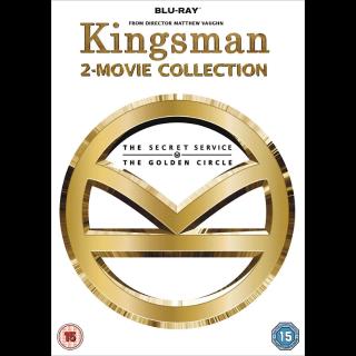 *InstaWatch* Kingsman 2 Movie Collection (VUDU HDX) - READ DESCRIPTION!