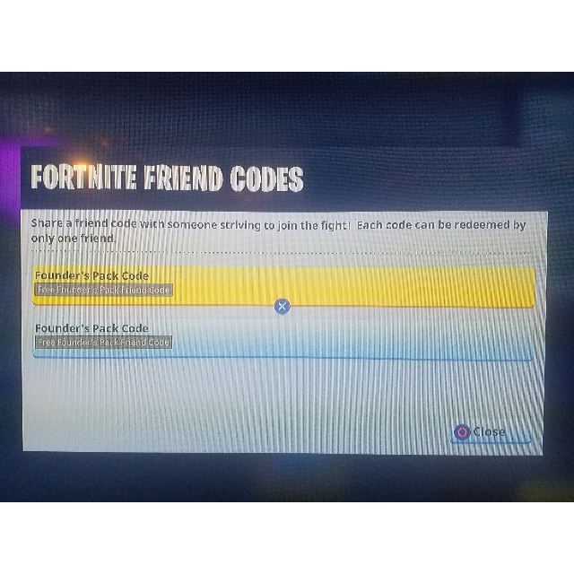 codes for save the world fortnite ps4