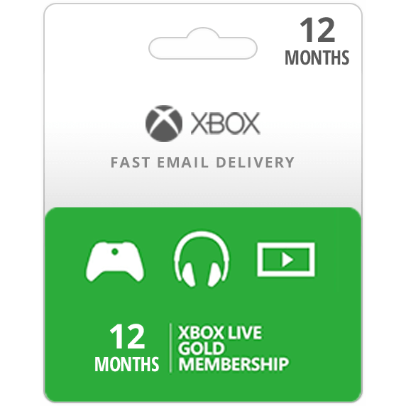 12 Month Xbox Live Gold Membership Code Microsoft Xbox 360xone Digital Key Ca Xbox Gift Card G Gameflip