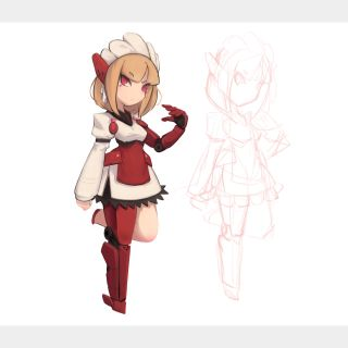 I will create your game character in my art style