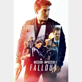 Mission: Impossible - Fallout   HD   VUDU   🔑 INSTANT DELIVERY 🔑  
