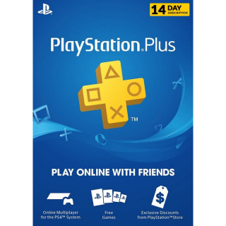 Playstation PSN Plus 14 Day Trial Key Code (UK) | 🔑 INSTANT DELIVERY 🔑 |