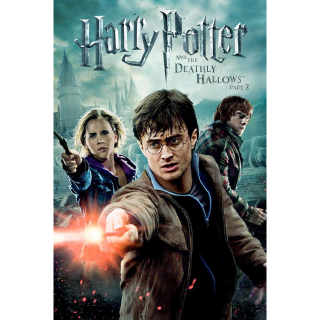 Harry Potter and the Deathly Hallows: Part 2 HD VUDU/MA Digital Code | 🔑 INSTANT DELIVERY 🔑 |