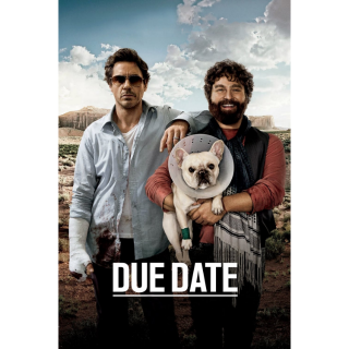 Due Date SD XML iTunes Digital Code   🔑 INSTANT DELIVERY 🔑  