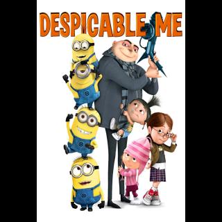 Despicable Me SD XML iTunes Digital Code   🔑 INSTANT DELIVERY 🔑  