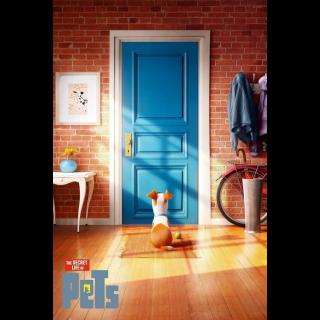 The Secret Life of Pets HD VUDU/MA Digital Code   🔑 INSTANT DELIVERY 🔑  