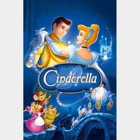 Cinderella (1950) HD iTunes Digital Code | 🔑 INSTANT DELIVERY 🔑 |