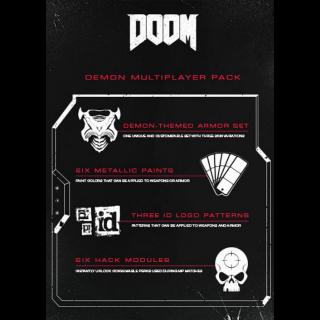 DOOM DEMON MULTIPLAYER PACK DLC Steam CD Key | 🔑 INSTANT DELIVERY 🔑 |