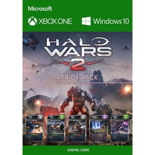 HALO WARS 2 ATRIOX PACK DLC XBOX ONE / PC Key GLOBAL | 🔑 INSTANT DELIVERY 🔑 |