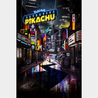 Pokémon Detective Pikachu   HD   VUDU or Movies Anywhere   🔑 INSTANT DELIVERY 🔑  