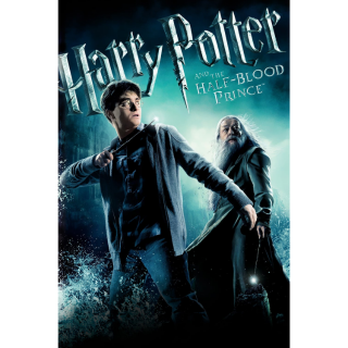 Harry Potter and the Half-Blood Prince HD VUDU/MA Digital Code   🔑 INSTANT DELIVERY 🔑  