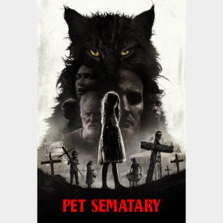 Pet Sematary   HD   VUDU   🔑 INSTANT DELIVERY 🔑  