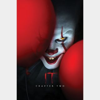 It Chapter Two   HD   VUDU or Movies Anywhere   🔑 INSTANT DELIVERY 🔑  