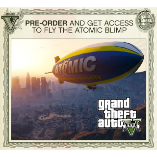 Grand Theft Auto V GTA V 5 Atomic Blimp Pre-Order DLC PlayStation 3 PS3 Key | 🔑 INSTANT DELIVERY 🔑 |