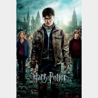 Harry Potter and the Deathly Hallows: Part 2   HD   VUDU or Movies Anywhere   🔑 INSTANT DELIVERY 🔑  