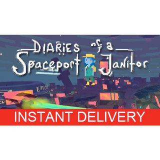 INSTANT DELIVERY | DIARIES OF A SPACEPORT JANITOR | STEAM DIGITAL CODE |