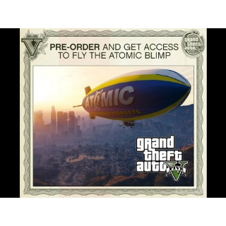 Grand Theft Auto V GTA V 5 Atomic Blimp Pre-Order DLC XBOX 360 Key | 🔑 INSTANT DELIVERY 🔑 |