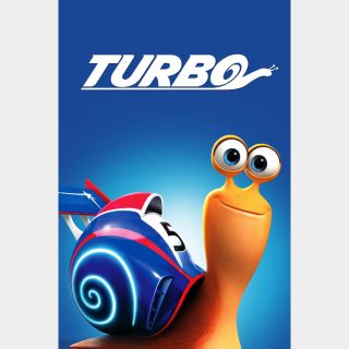 Turbo   HD   Movies Anywhere   🔑 INSTANT DELIVERY 🔑  
