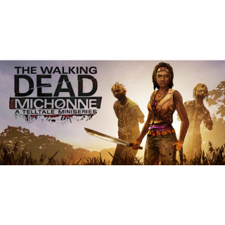 The Walking Dead: Michonne - A Telltale Miniseries Epic Games CD Key GLOBAL   🔑 INSTANT DELIVERY 🔑  