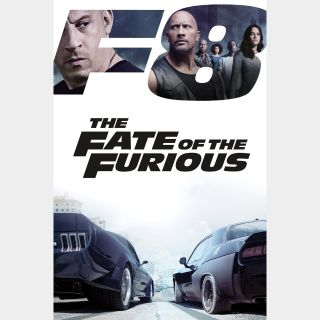 The Fate of the Furious (Theatrical)   HD   VUDU or Movies Anywhere   🔑 INSTANT DELIVERY 🔑  