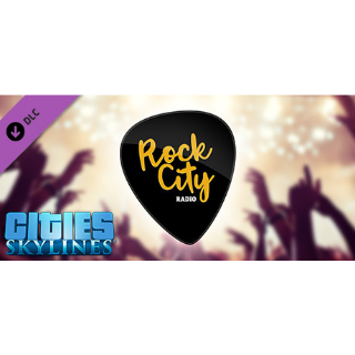 CITIES SKYLINES - ROCK CITY RADIO DLC Steam CD Key | 🔑 INSTANT DELIVERY 🔑 |