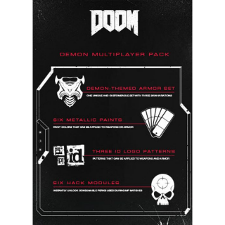 DOOM DEMON MULTIPLAYER PACK DLC Steam CD Key | 🔑 INSTANT DELIVERY 🔑 |
