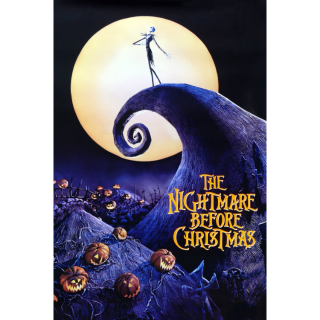 The Nightmare Before Christmas HD VUDU/MA Digital Code   🔑 INSTANT DELIVERY 🔑  