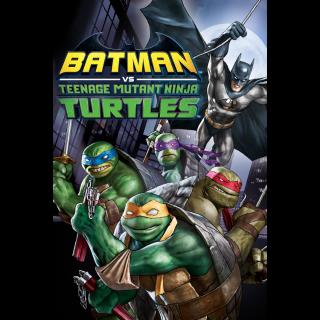 Batman vs. Teenage Mutant Ninja Turtles HD Google Play Digital Code   🔑 INSTANT DELIVERY 🔑  