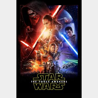 Star Wars: The Force Awakens   HD   VUDU or Movies Anywhere   🔑 INSTANT DELIVERY 🔑  