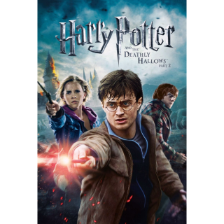Harry Potter and the Deathly Hallows: Part 2 HD Google Play Digital Code | 🔑 INSTANT DELIVERY 🔑 |