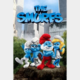The Smurfs | HD | Movies Anywhere | 🔑 INSTANT DELIVERY 🔑 |