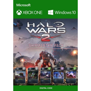 HALO WARS 2 SHIPMASTER PACK DLC XBOX ONE / PC Key GLOBAL | 🔑 INSTANT DELIVERY 🔑 |