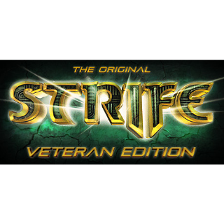 The Original Strife: Veteran Edition Steam CD Key GLOBAL | 🔑 INSTANT DELIVERY 🔑 |