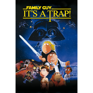 Family Guy Presents: It's a Trap! SD XML iTunes Digital Code | 🔑 INSTANT DELIVERY 🔑 | **REQUIRES XML WORKAROUND**