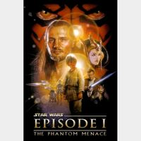 Star Wars: Episode I - The Phantom Menace HD Google Play Digital Code | 🔑 INSTANT DELIVERY 🔑 |