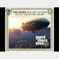 Grand Theft Auto V GTA V 5 Atomic Blimp Pre-Order DLC XBOX 360 Key   🔑 INSTANT DELIVERY 🔑  