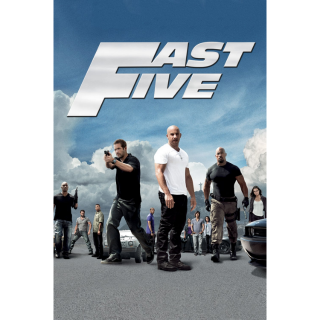 Fast Five (Unrated) SD VUDU/MA Digital Code | 🔑 INSTANT DELIVERY 🔑 |